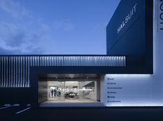 A concept shop for high-volume mens suit retailer Haruyama.