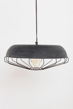 Caged Pendant Lamp  #UrbanOutfitters