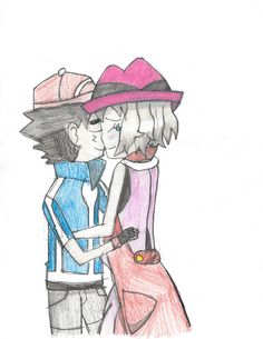 Amour- Another hug picture, but colored doe.. by Pikafan09.deviantart.com on @DeviantArt