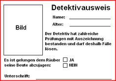 Detektivausweis                                                                                                                                                                                 Mehr