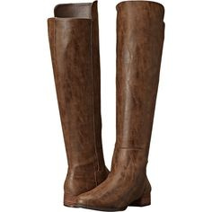 VOLATILE Vineyard (Brown) Women's Zip Boots ($20) ❤ liked on Polyvore featuring shoes, boots, brown, brown boots, over knee high boots, over the knee platform boots, above the knee boots and brown over the knee boots