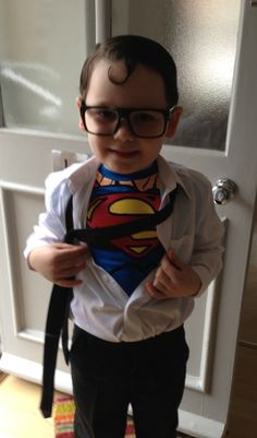 Clark Kent for world book day