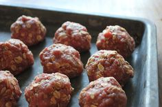 20-Minute Freezer Cooking: Barbecued Meatballs and Homemade Instant Oatmeal Packets