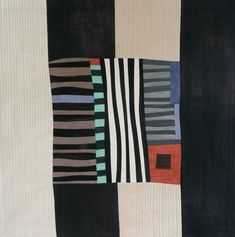 this makes me think of Gees Bend quilts by Nancy Aker - One thing leads to… Gees Bend Quilts, Motifs Textiles, American Quilt, Quilt Modernen, Contemporary Quilts, Art Abstrait, Fabric Art, Quilting Fabric, Quilting Designs