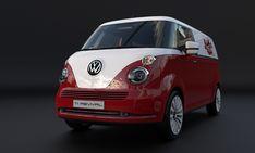 VW T1 Microbus Revival Concept Envisioned On T6 Platform