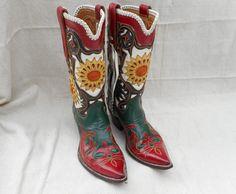 Vintage Ladies Rios Boots - Circa 1950 | | Cayuse Western Americana