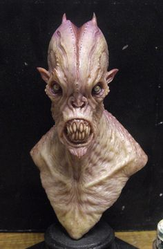 Resin cast alien 1 by BOULARIS.deviantart.com on @deviantART