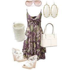 summery, created by debtastic on Polyvore
