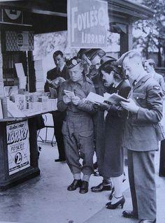 Wartime Reading in London.  For more book fun, follow us at www.facebook.com/booktasticfun