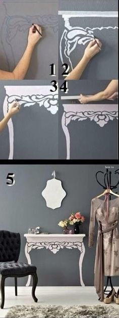 DIY - Creative stand/tabel