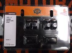 #Harley Harley Davidson Black Switch Caps please retweet