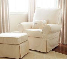 Perfect for nursery glider $550, ottoman $150