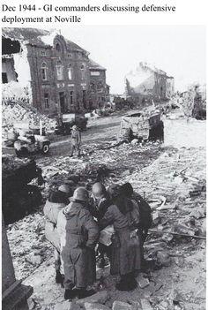 Dans les environs de Bastogne : Noville après les affrontements
