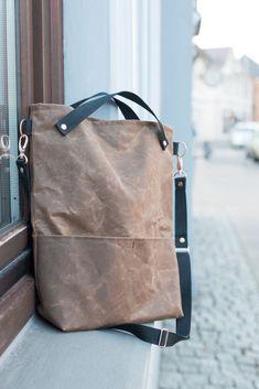 """Gratis Schnittmuster: Tasche """"Nine"""" Snaply-Magazin - Taschen&noch mehr Taschen - Bag Patterns To Sew, Sewing Patterns Free, Free Sewing, Free Pattern, Pattern Sewing, Sewing Tips, Sewing Projects, Diy Handbag, Tote Bag"""