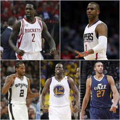Here is a look at the NBA's all defensive team. Where's Hassan at? #repre23nt