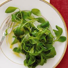 Mâche Salad with Creole Vinaigrette from Epicurious