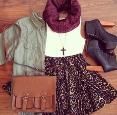 Such a nice autumn/fall outfit