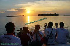 Pulau Putri Sunset, Paket Pulau Putri Resort Kepulauan Seribu. http://kepulauan-seribu.com/pulau-putri