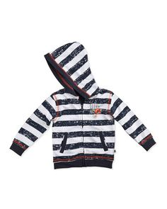 Little Wave Hoodie, 12-24 Months by Petit Lem at Neiman Marcus Last Call.