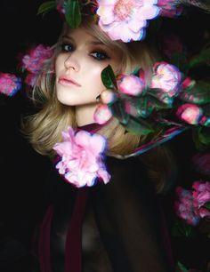 'Proper Colors & Tones' Sasha Luss by Daniel Sannwald for Numéro June/July 2014