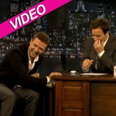 Justin Timberlake And Jimmy Fallon Spoof Michael Jackson Singing On 'Late Night' | Radar Online