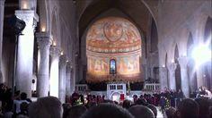 Il papa nella Basilica di Aquileia