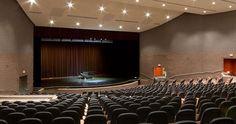 school auditorium design - Google Search Auditorium Design, Conference Room, Google Search, School, Table, Furniture, Home Decor, Meeting Rooms, Schools