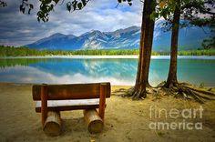 Lake Edith, Jasper Alberta Canada