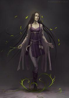 Sombras Divinas: Raven by telthona.deviantart.com on @deviantART