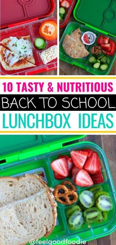 Check out these back to school lunchbox ideas. They all include simple healthy whole foods you can put together quickly - great for pre-school & kindergarten. Hope these ideas help you pack nutritious delicious lunches for your kids! #backtoschool #lunchbox #lunch #kidfriendly