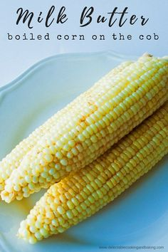 I love corn on the cob, whether it's grilled, smoked, or otherwise, but this Milk Butter Boiled Corn on the Cob is the best hands down! It's just as easy as boiling or steaming corn on the cob, but this version is so superbly sweet and soft that you will