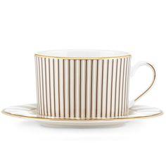 Brian Gluckstein Audrey Cup & Saucer By Lenox