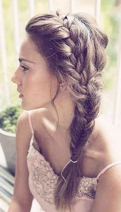 Dirndl hairstyle idea