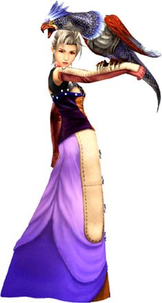 Paine with Final Fantasy X