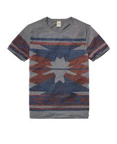 Yarn Dyed Intarsia Tee > Mens Clothing > T-shirts at Scotch & Soda