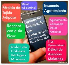 ¿Qué es la LipoAtrofia Semicircular por Contaminación Electromagnética? - Club Salud Natural