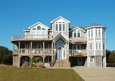 Twiddy Outer Banks Vacation Home - Sandy Waters - Corolla - Oceanside - 9 Bedrooms