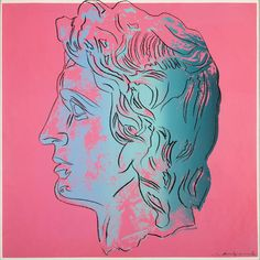 Andy Warhol (American, 1928-1987) Alexander the Great