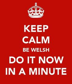 Welsh Humour: If I understand this correctly, my entire life makes so much more sense!