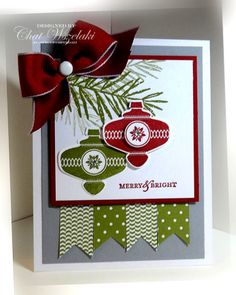 Christmas Collectibles, Stampin' Up, Me, My Stamps and I