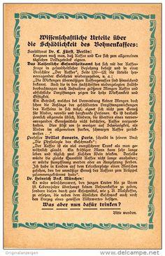 Original-Werbung/Inserat/ Anzeige 1905 - (BEIDSEITIG) KATHREINER'S MALZKAFFEE ca. 160 x 90 mm