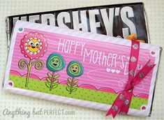 Free printable Mother's Day Candy Bar Wrapper ~ Large ~ anythingbutperfect