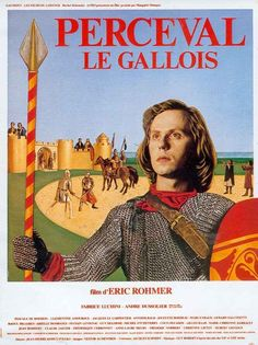 perceval eric rohmer - Google Search Type Posters, Film Posters, Mixtape, Marie Christine Barrault, Roi Arthur, Francois Truffaut, Gervais, Germany Language, French Movies