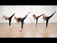 Hollywood trainer Jeanette Jenkins brings a cardio kickboxing workout that you can do in the comfort of your home. A range of kickboxing drills and combos, interspersed with cardio and bodyweight exercises. Kick Boxing, Cardio Training, Mental Training, Fitness Workouts, Cardio Workouts, Body Workouts, Cardio Dance, Boxing Fitness, Cardio Boxing