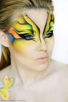 Resultado de imagen para Butterfly make up