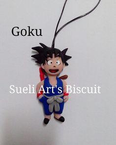 Goku biscuit Sueli Art's Biscuit