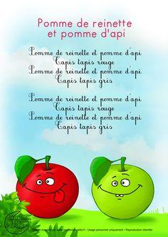 Paroles_Pomme de reinette et pomme d'api                                                                                                                                                      Plus