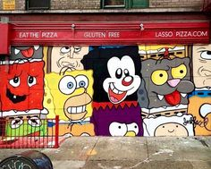 Street Art from Jerkface in New York City