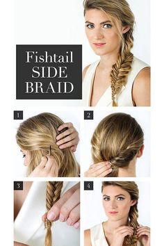 Hairstyles For Long Hair : Fish Tail Braid Different Kind of Braids
