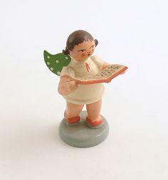 Vintage Christmas Angel Decoration Wendt & Kuhn by efinegifts, $29.95